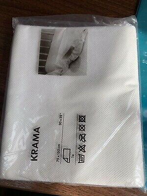 "Krama Mattress Protector 30 X 59"". 75 X 150 Cm  New White • 9.60£"