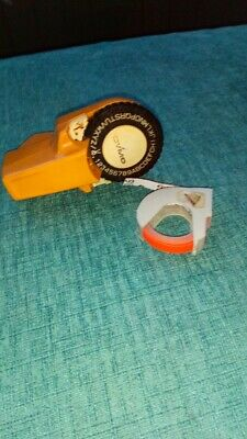 Vintage Dymo Label Printer And Tape • 4£