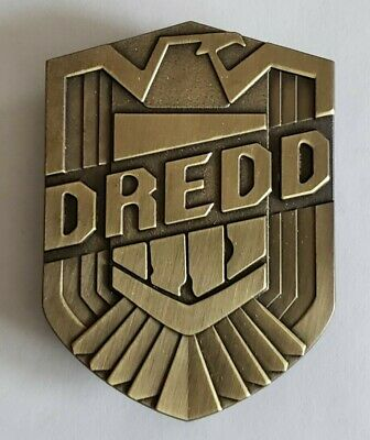 JUDGE DREDD BADGE - METAL - NEW Without Tags - FROM SDCC 2012 • 11.31£