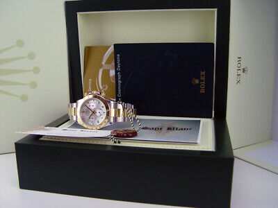 $ CDN22784.51 • Buy ROLEX 18kt Gold & Stainless Steel DAYTONA White MOP Arabic 116523 SANT BLANC