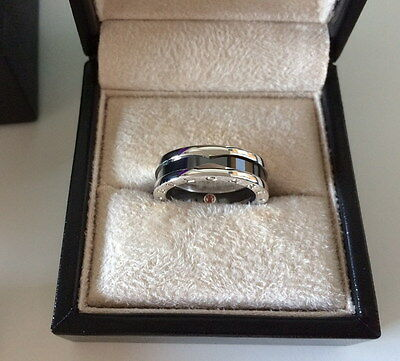 AU675 • Buy BVLGARI (BULGARI) 'Save The Children' AHWRZ1 Unisex RING (size 57) *near NEW*