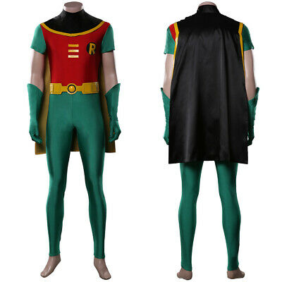 $ CDN56.82 • Buy TeenTitans Robin Cosplay Costume Jumpsuit Outfits Halloween Carnival Costumes