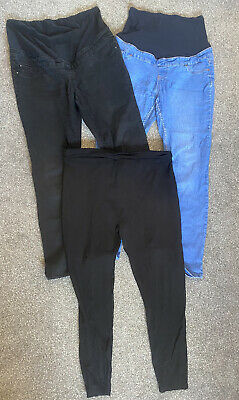 Maternity Jeans And Leggings Bundle Size 14 • 1.70£