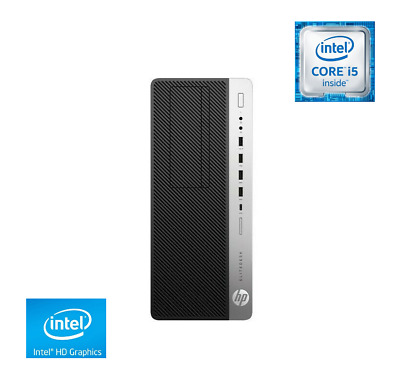 HP EliteDesk 800 G3, Tower PC, I5-6500, 8GB RAM, 512GB SSD, Warranty, WiFi • 349.95£