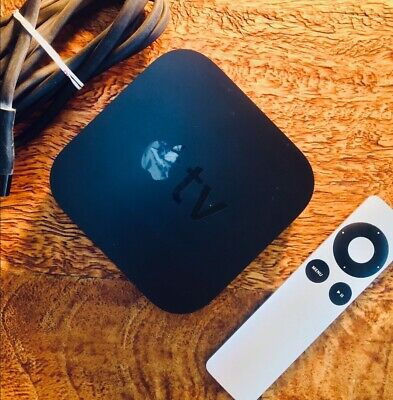 AU75 • Buy Apple TV 3rd Generation Streamer 1080P A1469 - Super Condition - New Remote
