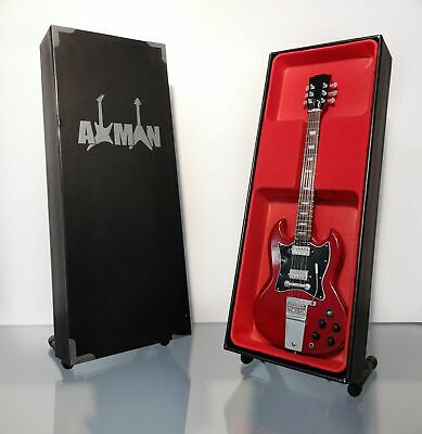 $ CDN47.69 • Buy (AC/DC) Angus Young - Miniature Guitar Replica With Display Case And Stand