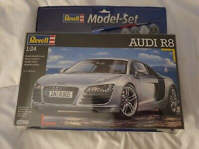 Revell Model Audi R8 1:24 Scale Kit #07398 Unopened Brand New In The Box • 19£