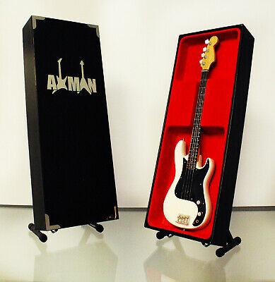 $ CDN47.69 • Buy Sid Vicious (Sex Pistols) Miniature Guitar Replica With Display Case And Stand
