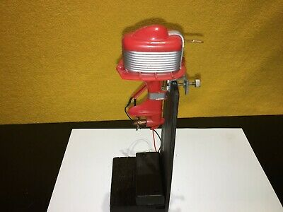 AU80.74 • Buy Vtg Toy Outboard Motor Knickerbocker Plastic Working With Battery Pack And Stand