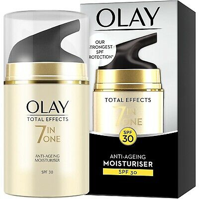 AU18.02 • Buy Olay Total Effects 7-in-1 Anti-Ageing Moisturiser Day Cream SPF30  50ml