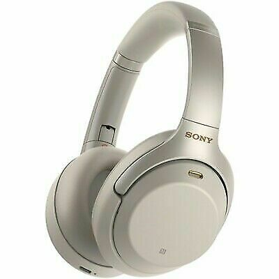 Sony WH-1000XM3 Wireless Noise Cancelling Headphones Silver - Brand New • 185£