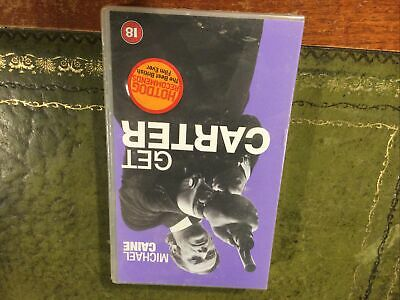 Get Carter VHS Video Retro, BNIB Sealed • 4£