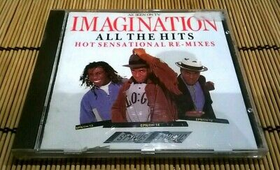 £12 • Buy Imagination - All The Hits - Hot Sensational Re-mixed - 1989 12 Track Cd Album