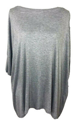 $ CDN18.98 • Buy Ariella Womens Blouse Size S Batwing Banded Sleeve Rayon Stretch Heather Gray