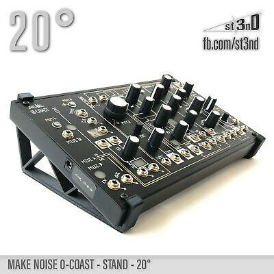 AU25.74 • Buy MAKE NOISE 0-COAST STAND 20 Degrees - 3D Printed