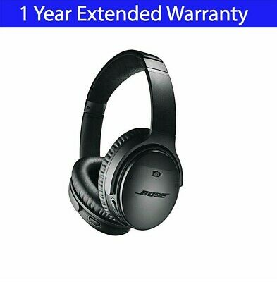 $ CDN282.82 • Buy Bose QuietComfort 35 II Wireless Headphones - QC35 II Black + Extended Warranty