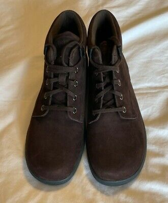 Rockport Womens Ankle Boots Brown Suede Lace Up Cushion Flat Shoes WW441 8 M New • 17.36£
