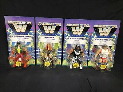 $120 • Buy WWE 2021 Wave 5 Masters Of The Universe Action Figures Complete Set Of 4 MOTU
