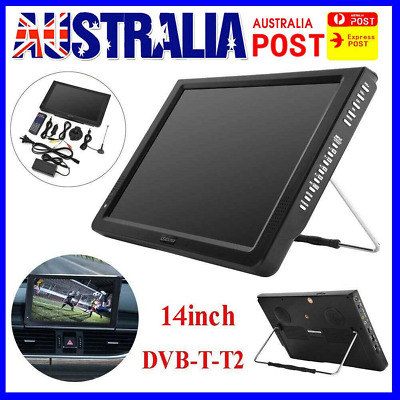 AU139.99 • Buy Portable 14  Digital TV 1080P HD TFT LED Car USB HDMI TV Video Player Television