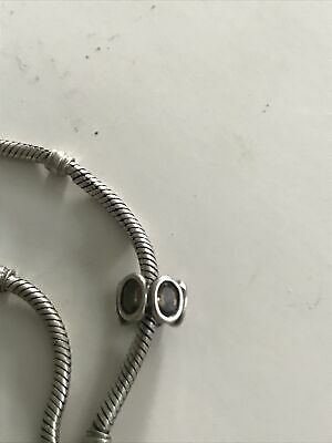 AU30 • Buy Authentic Pandora Brown Oval Lights Silver Charm 790311