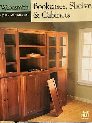 Bookcases, Shelves And Cabinets Woodsmith Custom Woodworking, Time Life Books • 5£