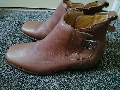 Brown Leather Mens Pavers Boots. Excellent Condition Size 9/43. • 20£