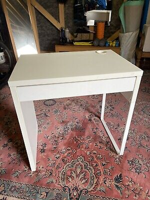 IKEA Micke Desk Workstation White 73x50cm. Great First Desk For A Child! • 0.99£