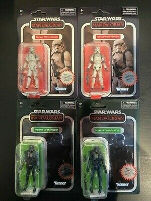 $ CDN99.99 • Buy 4 Star Wars Vintage Collection Graphite Figures 2 Death Trooper Stormtrooper Tvc
