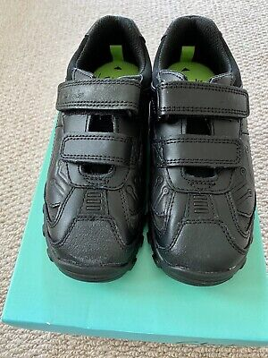 £24.99 • Buy BN Boys Clarks Black Leather School Shoes With Toy Eur 28 UK10 E Infant RRP £38