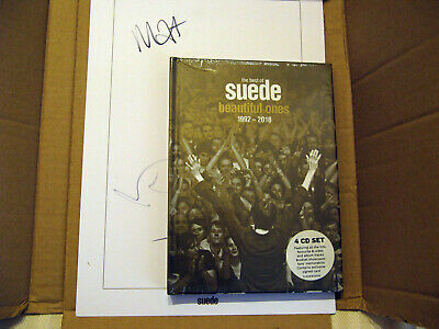 SUEDE The Best Of Suede - Beautiful Ones 1992-2018 - 4CD Box Set  - SIGNED COPY • 51.70£