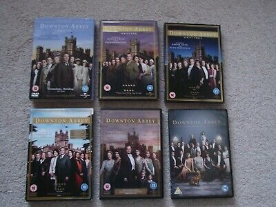 Downtown Abbey DVDs, Series 1, 2, 3, 4, 6 & 'The Movie'.   Very Good Condition.  • 10.99£