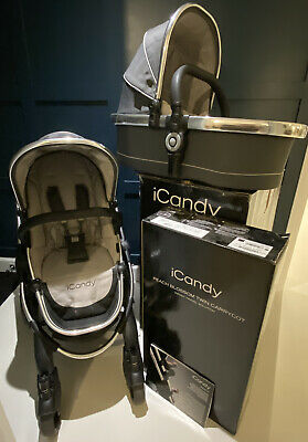 ICandy Peach Truffle Pushchair / Buggy With Carrycot • 150£