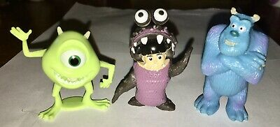 """Monsters Inc. 2.25"""" Figures: Boo In Costume & Sculley Figures/Cake Toppers • 2.16£"""