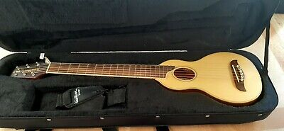 AU200 • Buy Washburn RO-10N Rover Natural Acoustic Travel Guitar W/ Soft Case