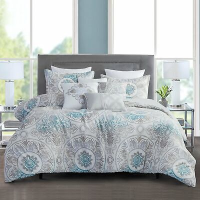 $ CDN0.86 • Buy Bedroom Microfiber 7 Piece-Bedding Comforter Set Luxury Bed In A Bag, Queen Size