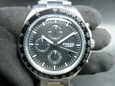 $ CDN12.50 • Buy New Old Stock - FOSSIL SPORT 54 CH3026 - Chronograph Stainless Steel Men Watch