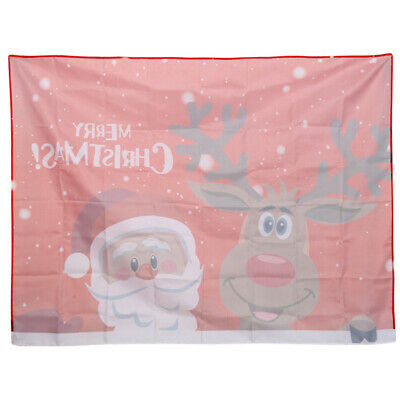 AU22.30 • Buy Dining Table Decorations Party Tablecloth Christmas Cover Fashion Red Table LR