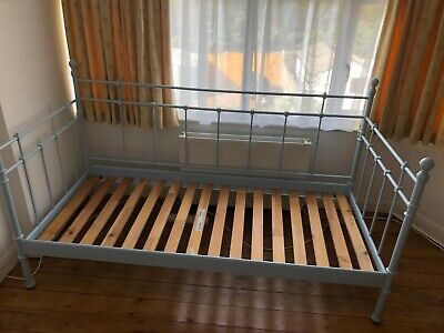 Ikea Pale Blue Tromsnes Metal Daybed • 5£