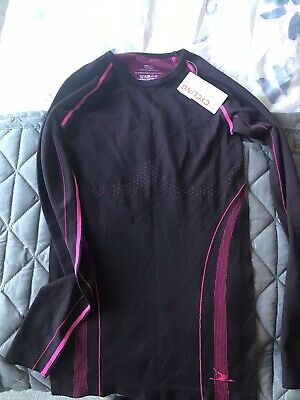 Ladies Crane Cycling Base Layer Top Small 8-10 • 2.50£