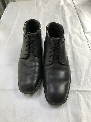 ROCKPORT HYDRO-SHIELD WATERPROOF MENS BOOTS BLACK Size 7 UK. Used Condition. • 12£