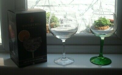 1 Tanqueray & 1 Whitley Neill, Limited Edition, Copa/ Gin Glass • 7.99£