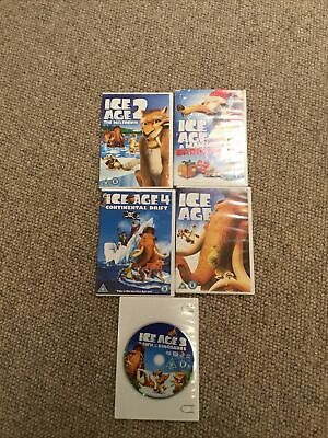 Ice Age Collection Bundle DVDs Q1, 2, 3, 4 And A Mammoth Christmas • 1.50£
