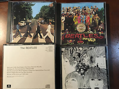 $ CDN4.10 • Buy Lot Of 4 Beatles Cds. Revolver, Lonely Hearts Club Band, Abbey Road White Album