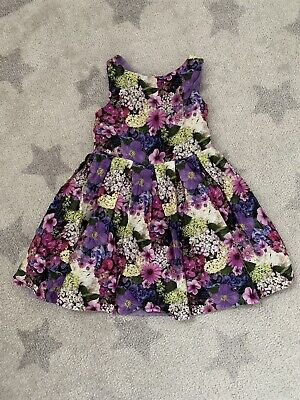 John Rocha Floral Summer Party Dress Age 4 Years • 3£
