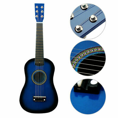 21  Childrens Kids Wooden Acoustic Guitar Musical Instrument Child Toy Xmas Gift • 16.91£