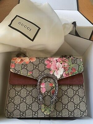 AU1900 • Buy Gucci Dionysus GG Supreme Mini Bag Bloom