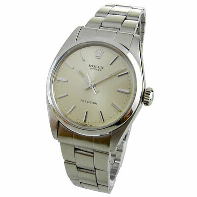 $ CDN4402.39 • Buy Rolex Oyster Pricision Vintage Stainless Steel Mechanical  Wristwatch 6426
