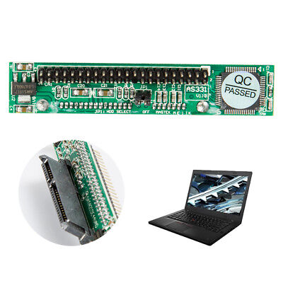 Hard Drive Laptop Female To 44Pin 2.5  IDE Male HDD SDD SATA Adapter ConvertWUK • 6.57£
