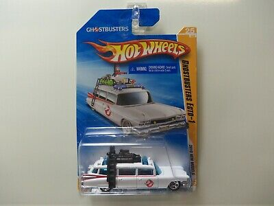 2010 Hot Wheels New Models Ghostbusters Ecto-1 #025/240 - MOC - 1/64 Scale • 4.12£