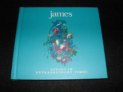 JAMES - Living In Extraordinary Times (Infectious CD 2018) Tim Booth Digibook • 5£